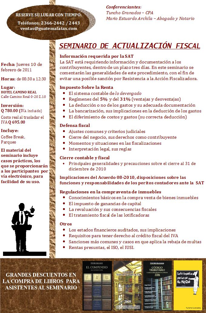Curso Actualización Fiscal y cierre contable